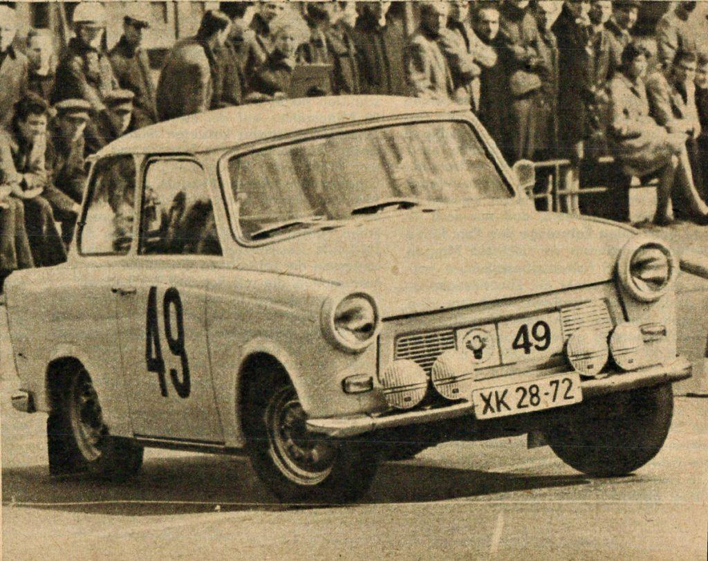 Pneumant- Rallye | Quelle: Illustrierter Motorsport