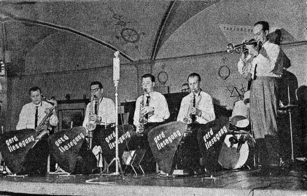 Gerd Liesegang und seine Musiker | Quelle: Alex-Spiegel 1962
