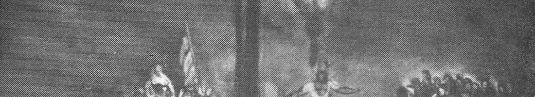 Entwurf für das Bühnenbild zum Stück Wilhelm Tell | Quelle: Programmheft