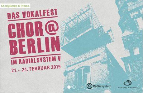 Vokalfest Chor@Berlin imRadialsystem Berlin | Foto: Radialsystem