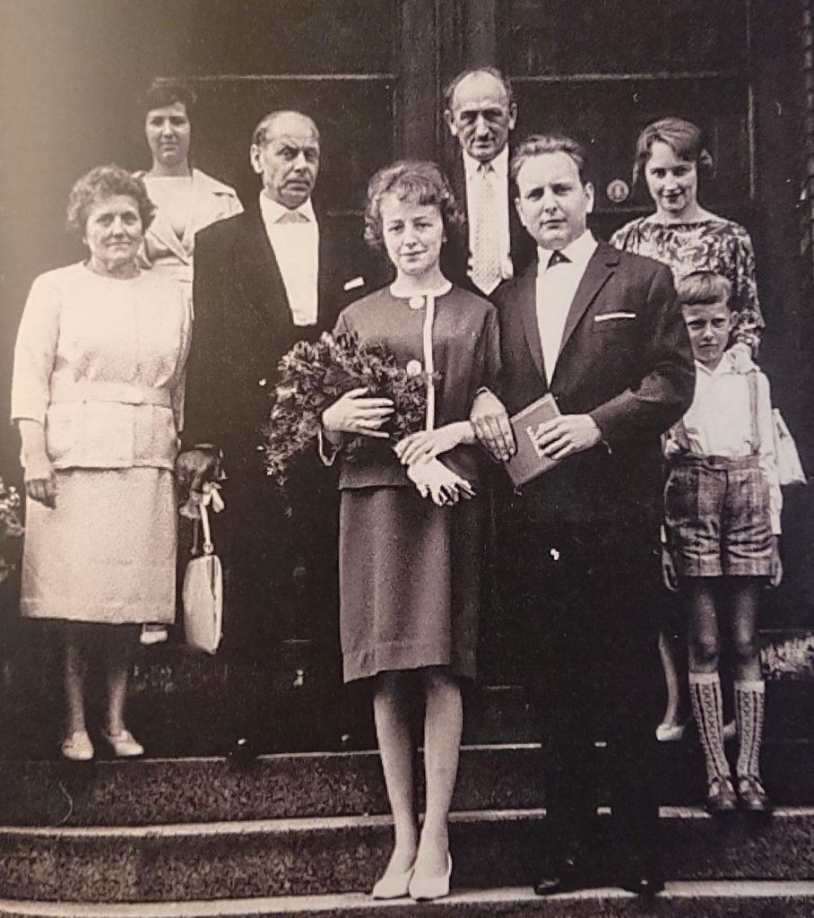 Hochzeit von Renate und Hans-Joachim Hellwig Ende der 50er Jahre | Foto: Privat