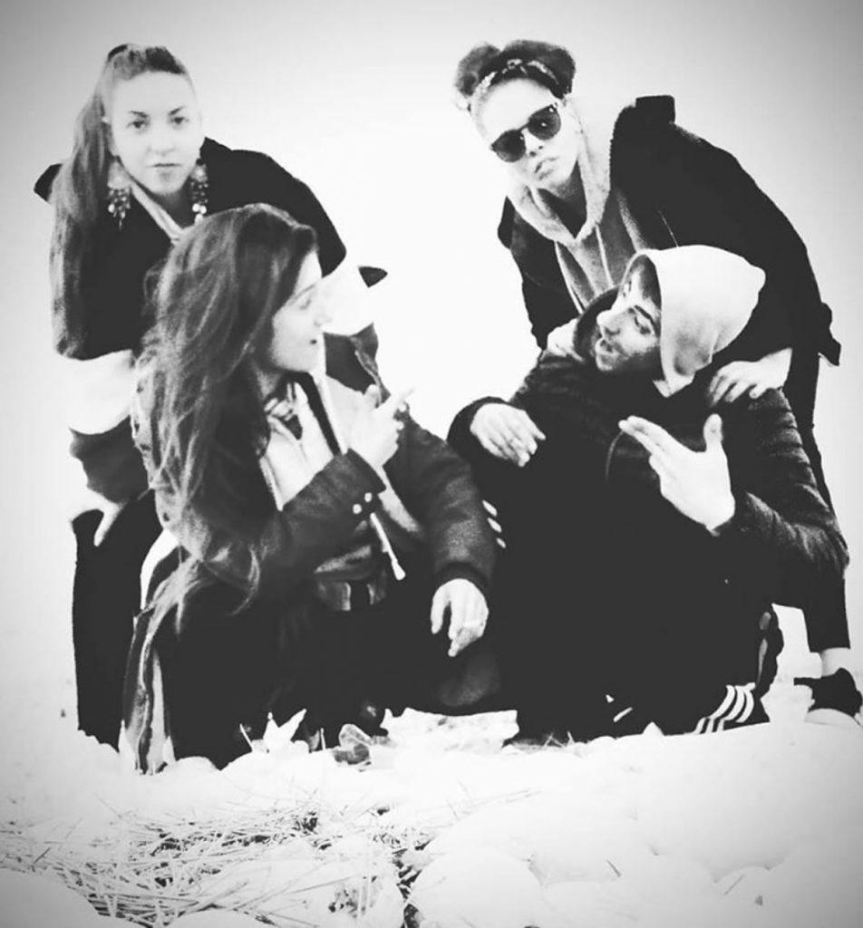 Drei Frauen, drei Raperinnen mit verschiedenen Stilen und kämpferischen Lyrics in der Tasche: Machete En Boca Foto: Machete en boca
