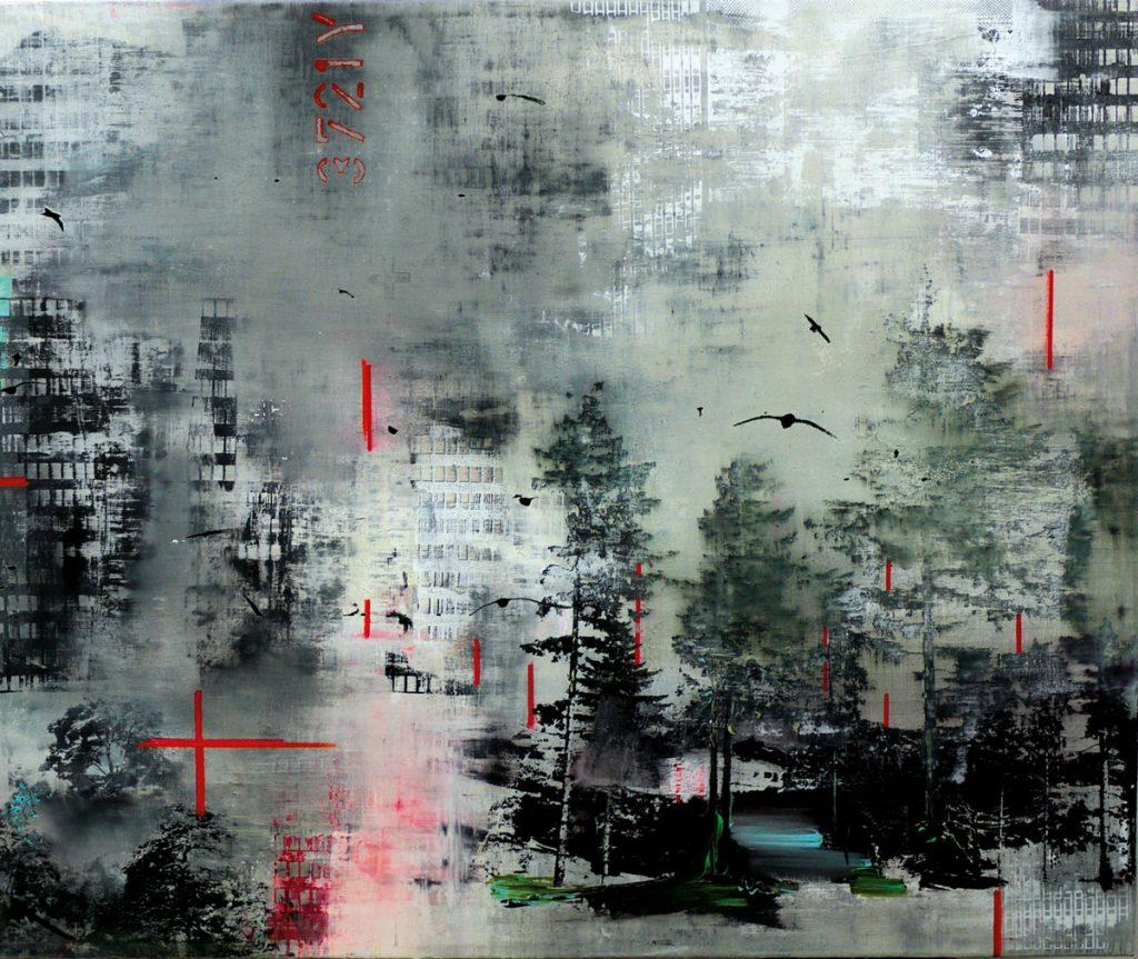 Birgit Borggräbe: Durch weiße Finsternis, 2015 | Inselgalerie