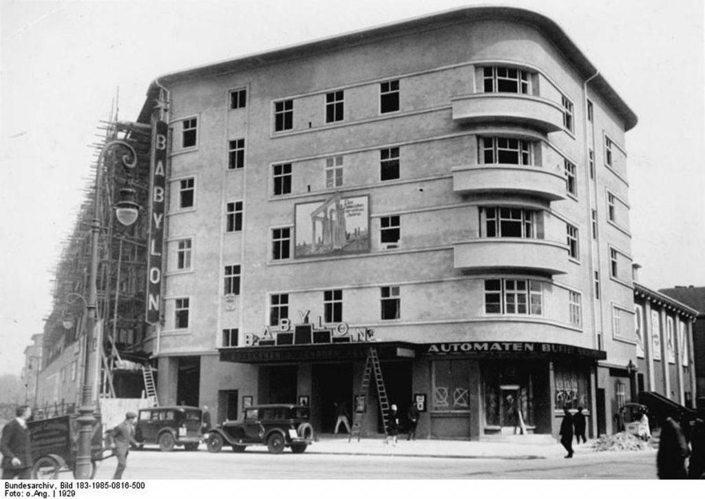 Hier enstand schon bald das Kino BABYLON in Berlin-Mitte| Foto: Bundesarchiv Berlin, Wiki Commons