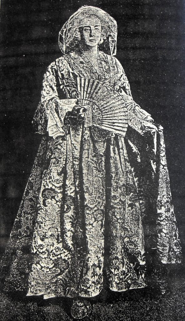 Hugenottenfrau | Quelle: Der Hugenotte. Zeitschrift 1922