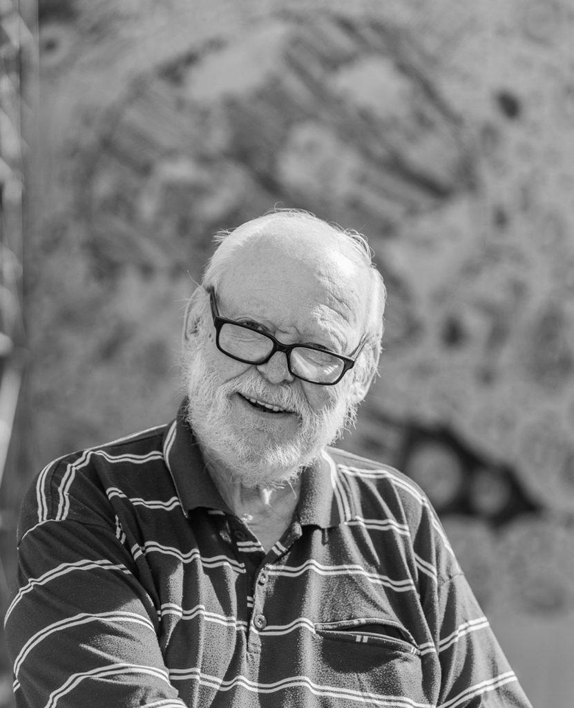 Der Künstler Volkmar Götze vom Kunstverein MAL-HEURE / Studio Otto Nagel e.V. | Foto: Giovanni Lo Curto