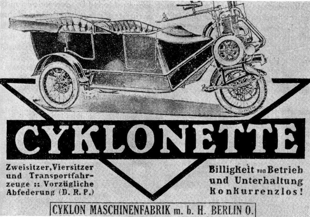 Cyclonette aus den 20iger Jahren