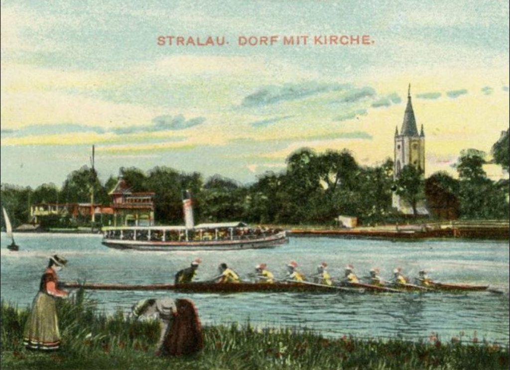 Ausflüge auf dem Dampfer | Quelle: Postkarte ca. 1910