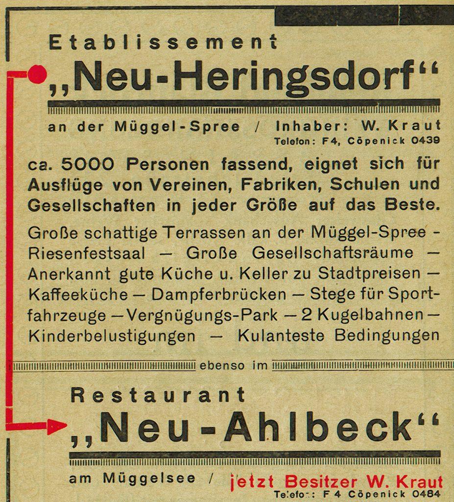 Tourismus und Dampfer | Quelle: Werbebroschüre