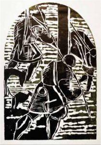 Holzschnitt von Martin Enderlein