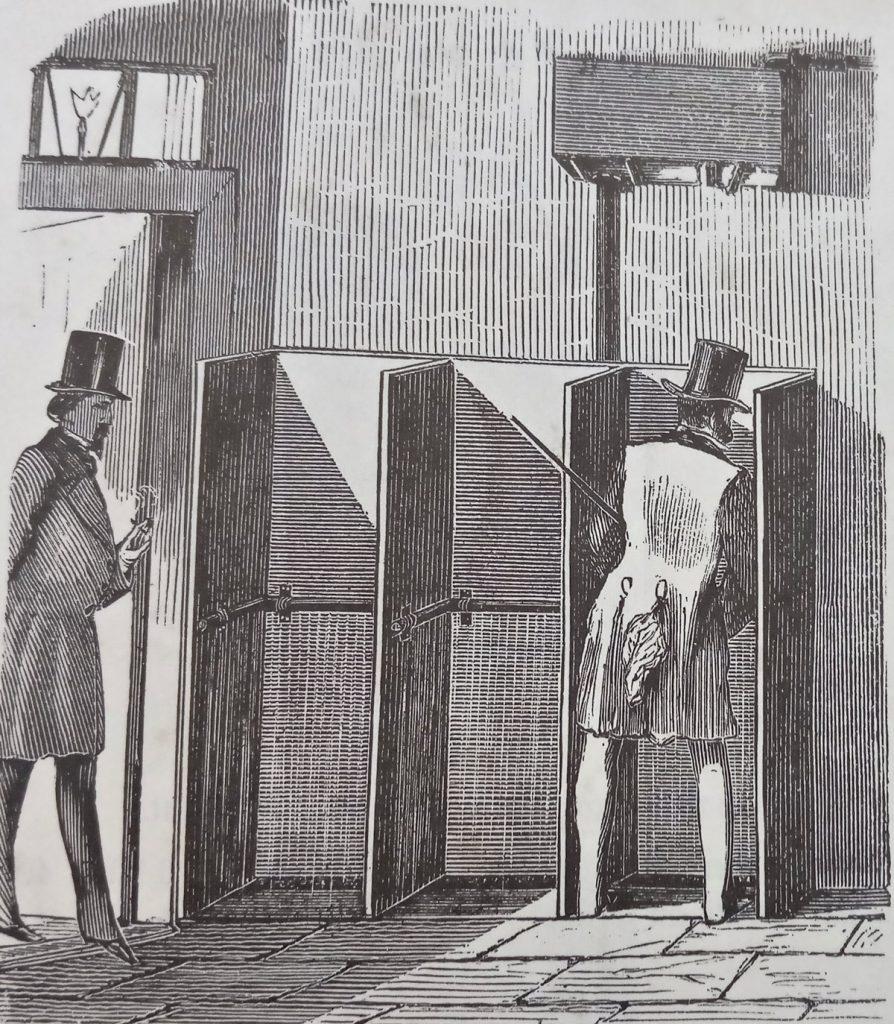 HIstorische Bedürfnisanstalten um 1880 | Quelle: Zeitgenössischer Katalog