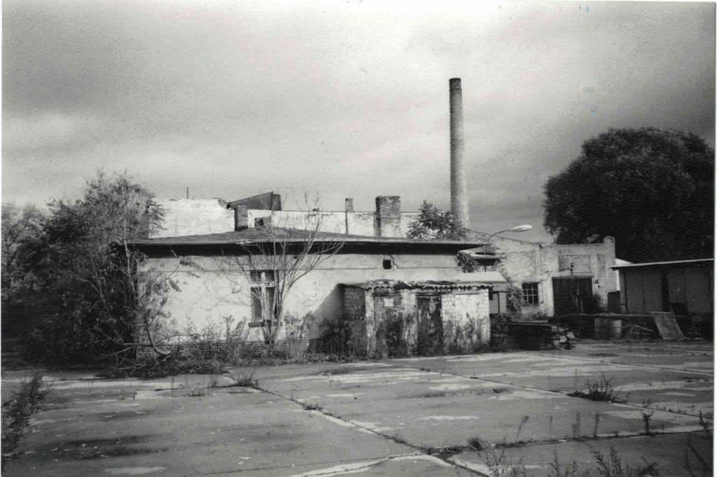 Glaswerk Stralau , Ende der 90er Jahre | Foto: Erhard Weinholz