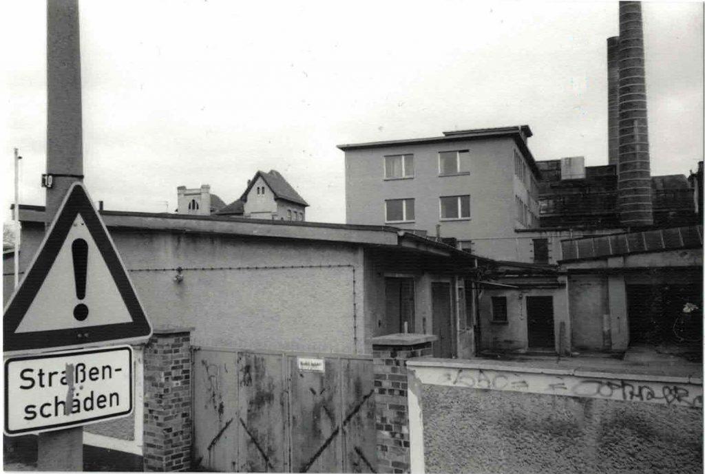 Fabrik in Stralau 1996 | Foto: Erhard Weinholz
