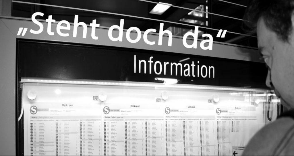 Steht doch da, eine Ausstellung vom 17.09.-14.10.19 im MGH Gneisenaustraße.
