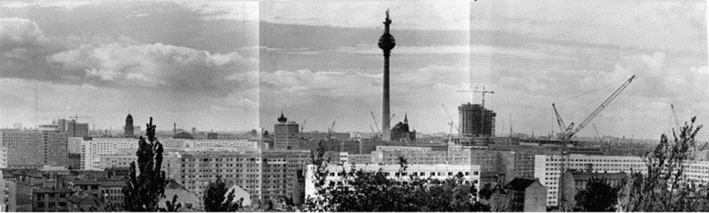Das Ost-Berliner Stadtzentrum im Jahre 1969 | Foto: Rainer Mittelstädt,