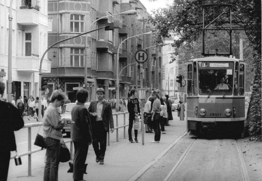 Boxhagener Straße, Ecke Warschauer Straße in Berlin-Friedrichshain | Foto: Peter Zimmermann