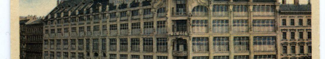 Verschwundene Orte - Hertie | Foto: Postkarte