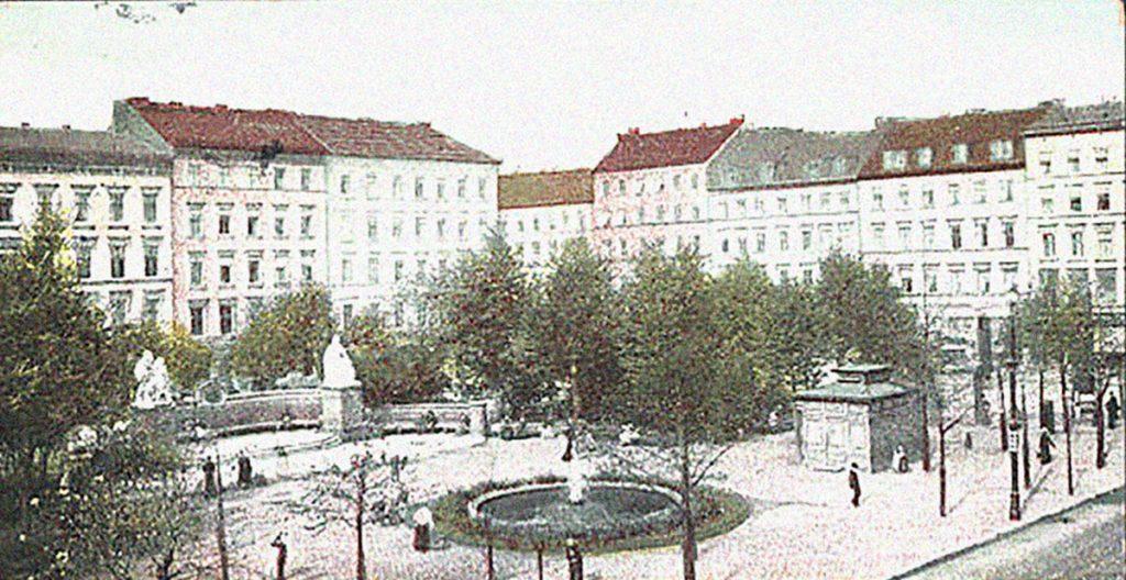 Andreasplatz | Quelle: Postkarte um 1900