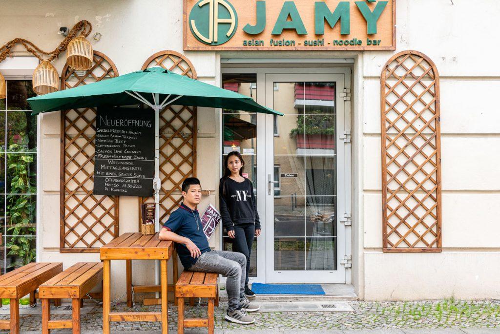 Frau Tran und Herr Phung vom JAMY in Berlin-Friedrichshain . | Foto: Giovanni Lo Curto