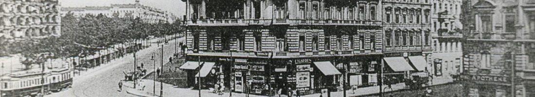 Verschwundene Orte: Der Bersarinplatz | Quelle: Postkarte um 1910