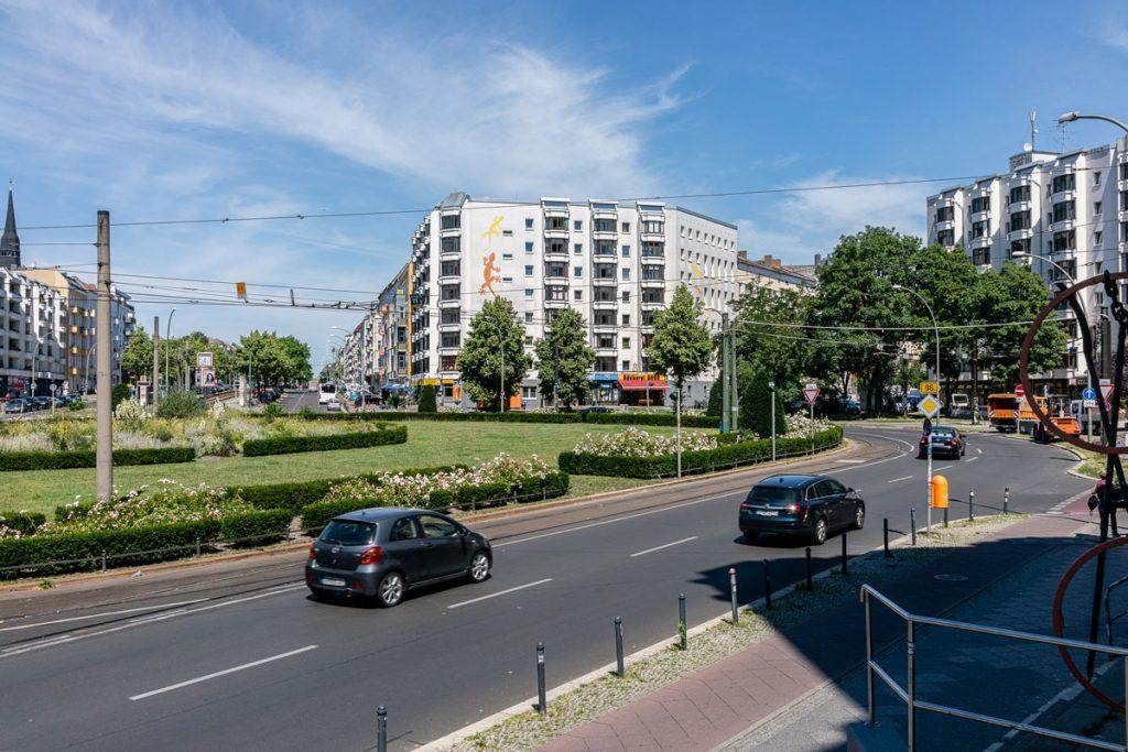 Der Bersarinplatz in Berlin-Friedrichshain | Foto: Giovanni Lo Curto