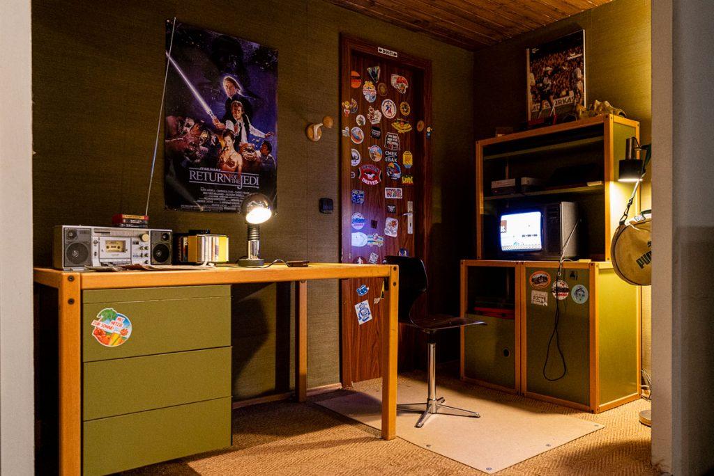 Computerspielemuseum . Jugedzimmer, 80er Foto: Giovanni Lo Curto