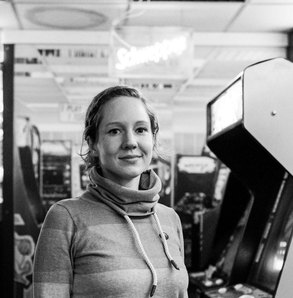Computerspielemuseum : Kuratorin Mascha Tobe | Foto: Giovanni Lo Curto
