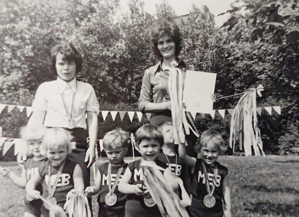 Jutta Langer und ihre Kinderkrippe | Foto: Privat