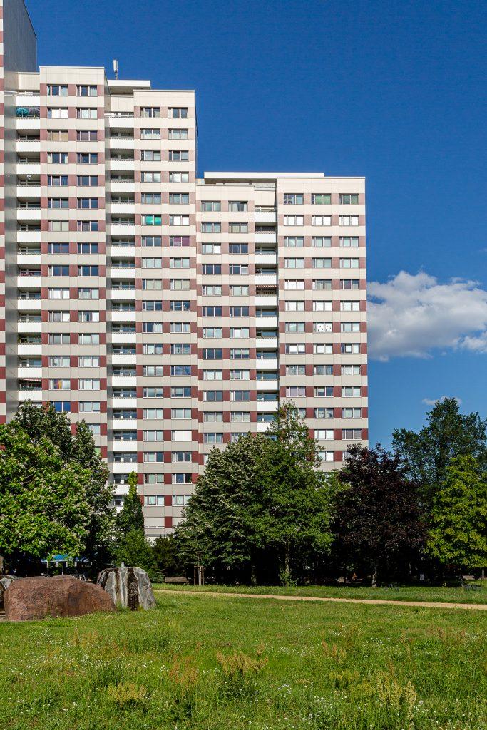 Hochhäuser am ehemaligen Leninplatz | Foto: Giovanni Lo Curto