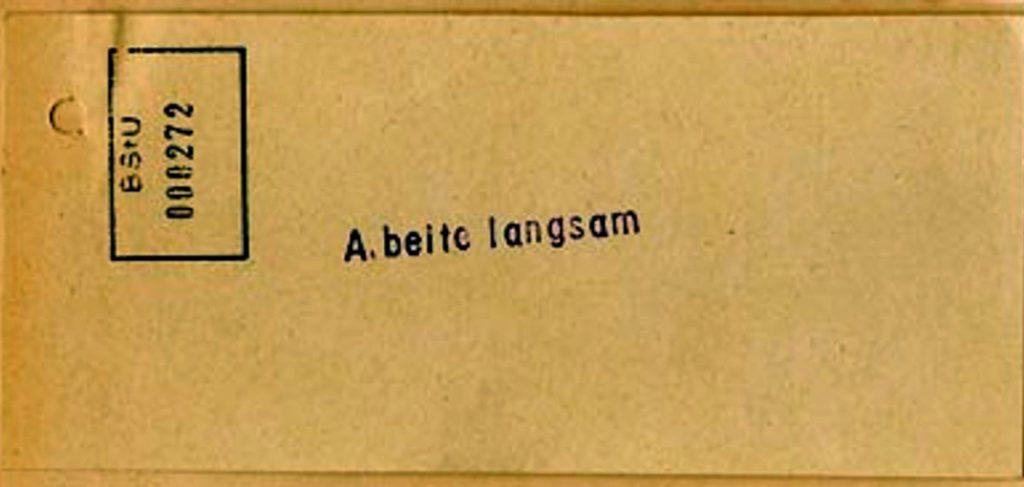 Sabotageaufrufe 1952 | Quelle: BStU