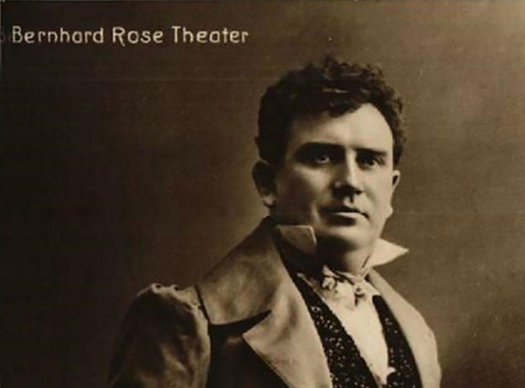 Berhard Rose | Quelle: Postkarte um 1910