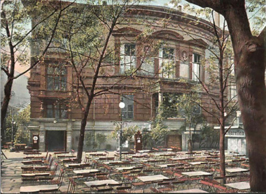 Außenansicht des Theaters | Foto: Postkarte um 1910