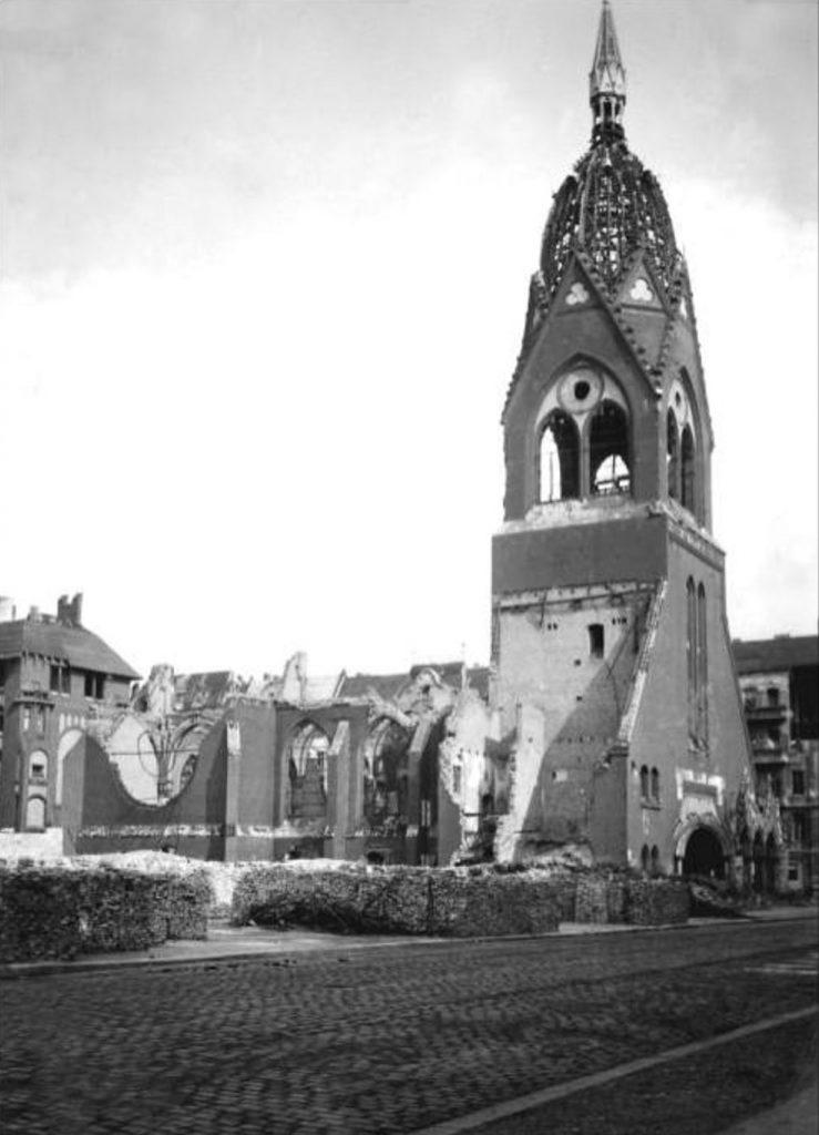 Verschwundene Orte in Friedrichshain: Die Lazaruskirche   Foto: Privat