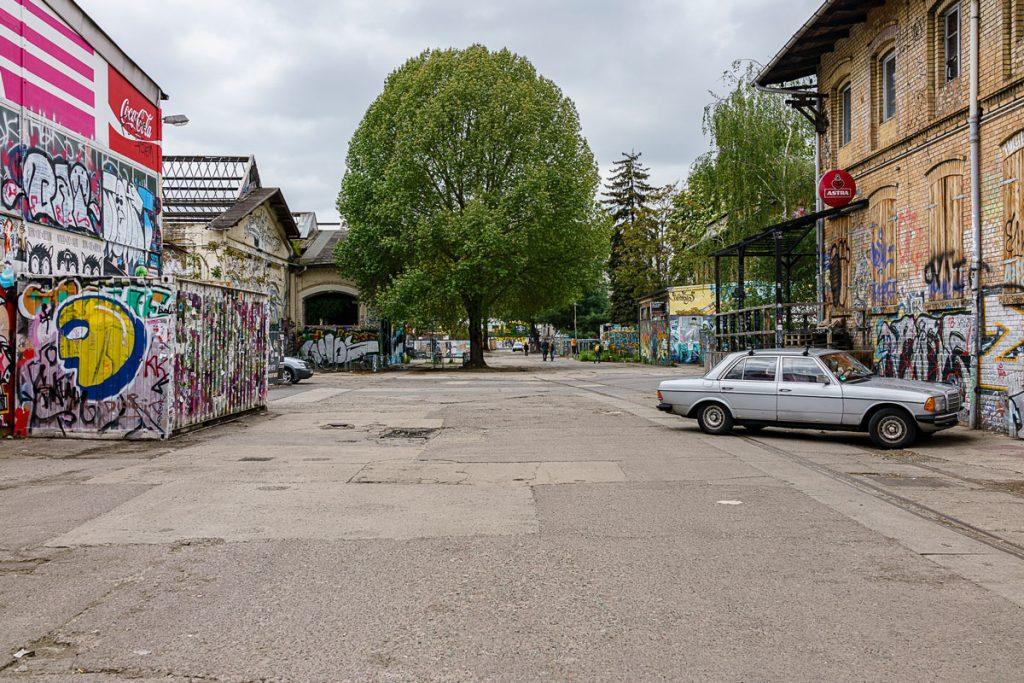 Fotoreportage vom RAW-Gelände von Giovanni Lo Curto entstanden während des Lockdowns in den Corona-Wochen.