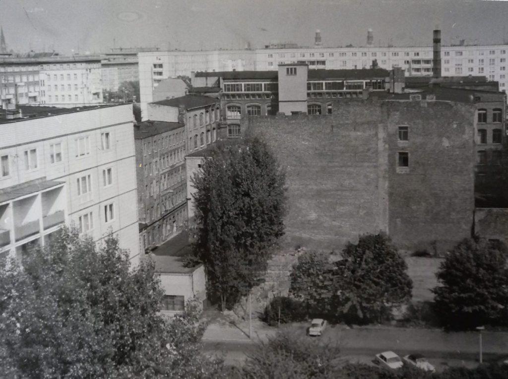 Krautstraße im Jahre 1988. | Quelle: Privat