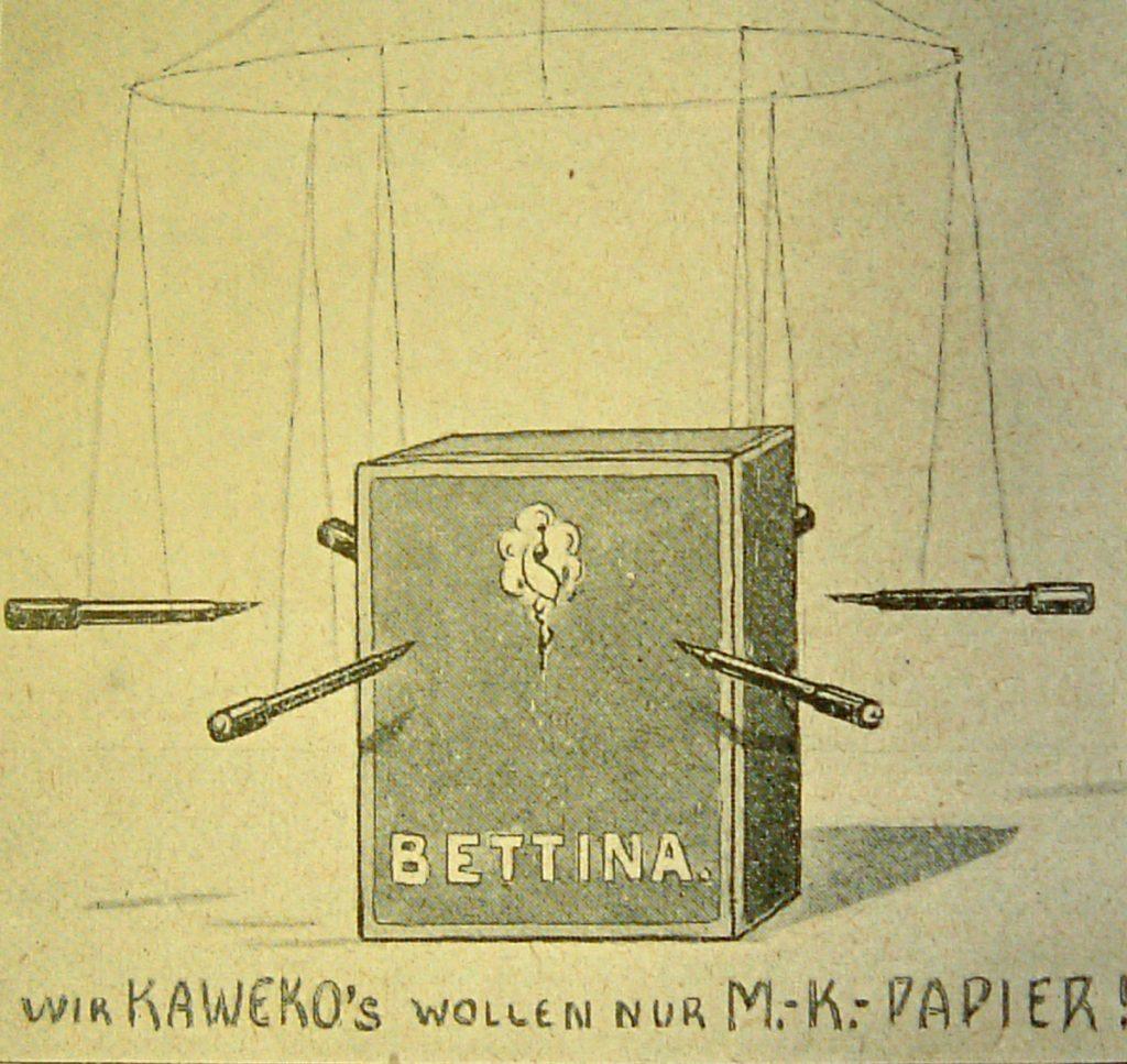 M.-K.-Papier | Quelle: Der Kreis 1927