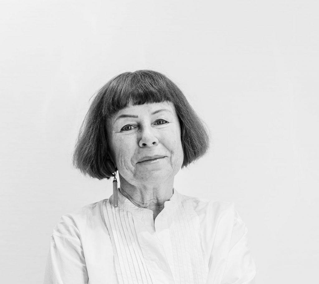 Eva Hübner, Leiterin der INSELGALERIE Berlin | Foto: Giovanni Lo Curto