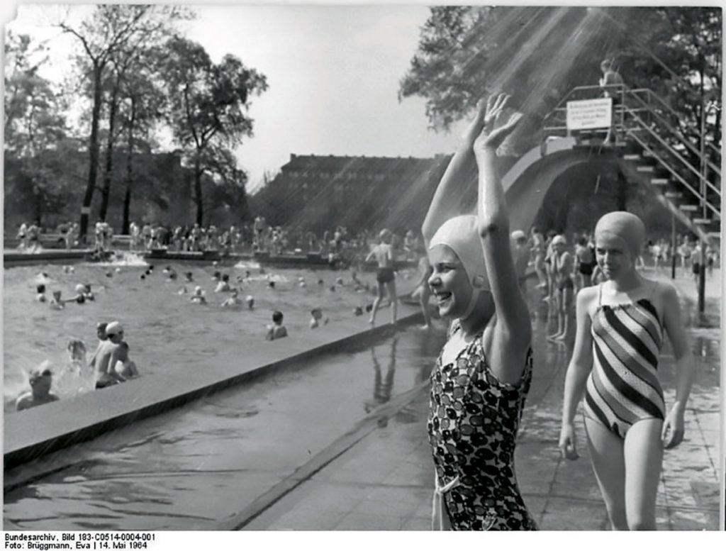 Friesenstadion in Friedrichshain | Foto: Eva Brüggmann, Bundesarchiv, Bild 183-C05140004-001