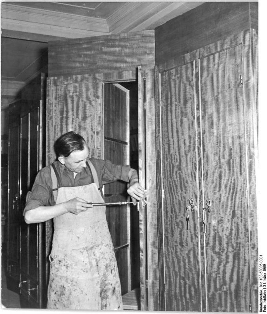 Andreashof in Friedrichshain | Quelle: Bundesarchiv Bild 183-83086-0001