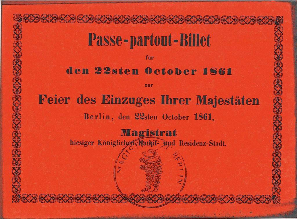 Historischer Presse- und Zugangsausweis | Quelle: Landesarchiv Berlin