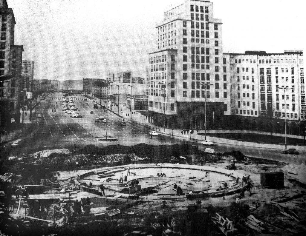 Strausberger Platz,1967 | Quelle: Infobroschüre 1967