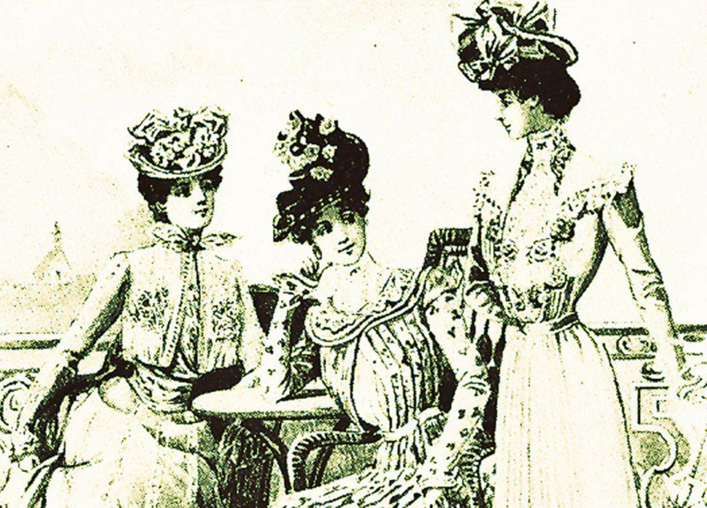 Hans Ostwald-Buch Grazien, 1904 | Quelle: Gartenlaube 1903
