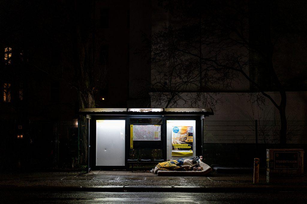 Obdachlose in Berlin | Foto: Giovanni Lo Curto