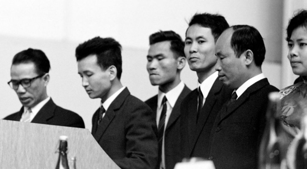 Empfang der Vietnamesischen Delegation, im Jahr | Quelle: Detlef Krenz1968