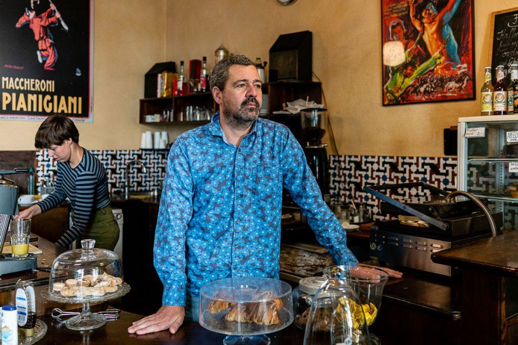Danny von der Espressobar La Tazza D'Oro | Foto: Giovanni Lo Curto