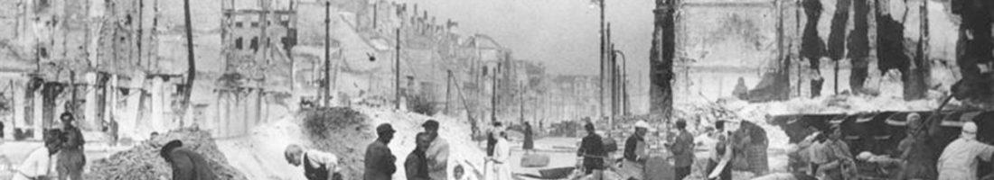 Frankfurter Allee, 1946 Quelle: Bundesarchiv_Bild_183-S74639, Wiki Commons