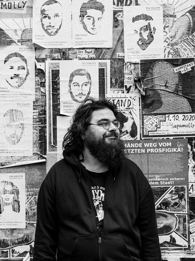 FHZZ Porträt: Ein Treffen mit dem Musiker Paul Geigerzähler | Foto: Giovanni Lo Curto