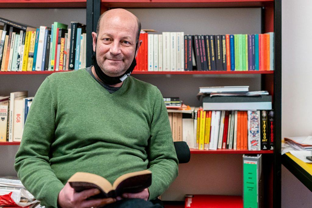 Museumsleiter Robert Schwind   Foto: Giovanni Lo Curto