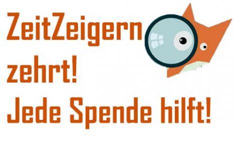 Der Friedrichshainer Zeitzeiger braucht die Unterstützung seiner Leser.