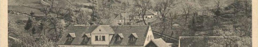 """Gasthaus """"Zum Alten Fritz?"""" in Friedrichshain, einem Ortsteil der Gemeinde Felixsee im Landkreis Spree-Neiße in Brandenburg."""